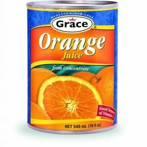 Grace Orange Juice 540ml