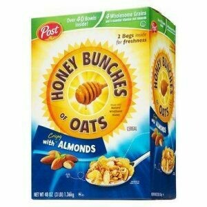 Post Honey Bunches of Oats with Almonds 48oz