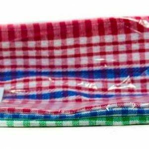 Kitchen Towel Plaid Med