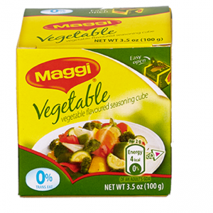 MAGGI Vegetable Flavored Seasoning Cubes 4g Box of 25
