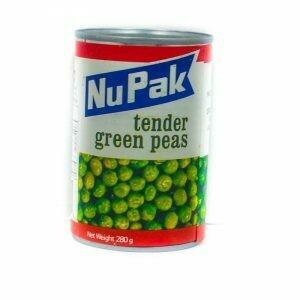 Nupak Tender Green Peas 280G
