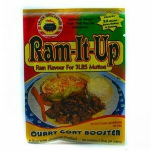 Ram It Up Curry Goat Booster 20G