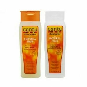 Cantu Shea Butter for Natural Hair Shampoo Conditioner Combo 13.5 Fl.Oz