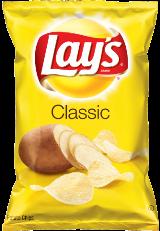LAYS CLASSIC POTATO CHIPS (38g)