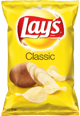 LAYS CLASSIC POTATO CHIPS (38g)