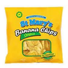 ST MARYS BANANA CHIPS (35g)