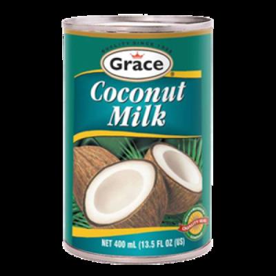 GRACE CANNED COCONUT MILK (400ML)