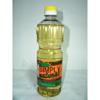 SIMPLY NATURAL COCONUT OIL (500ML)