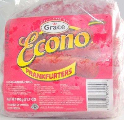 GRACE ECONO FRANKFURTERS (900G)