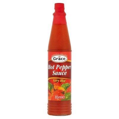 GRACE HOT PEPPER SAUCE 3ozs