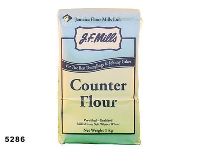 JF MILLS Counter Flour