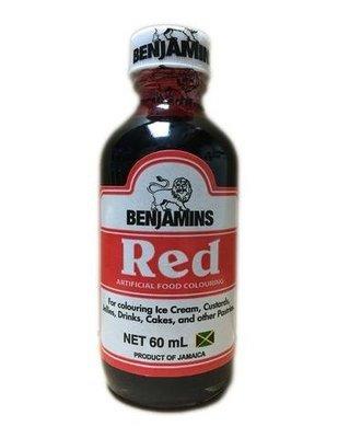 Benjamins Red Food Colouring