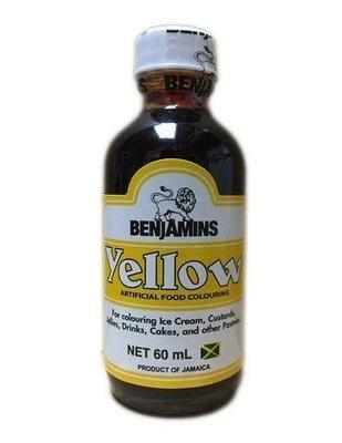 Benjamins  Yellow Food Coloring