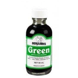 Benjamins Green food Coloring