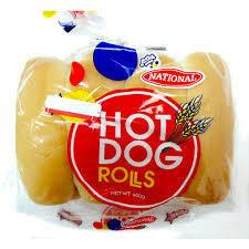 National Hot Dog Rolls (8pk)