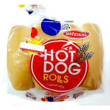 National Hot Dog Rolls (8pk)