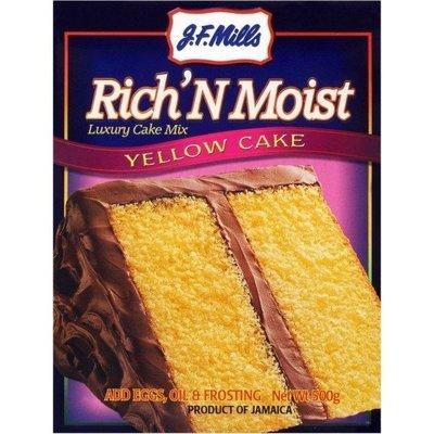 JF Mills Rich N Moist Yellow Cake Mix