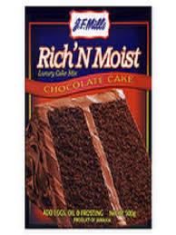 JF Mills Rich N Moist Chocolate Cake Mix