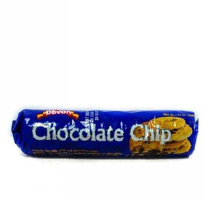 DEVON CHOCOLATE CHIP BISCUITS 200G