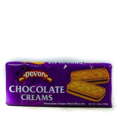 DEVON CHOCOLATE CREAMS BISCUITS (140g)