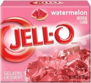 Jello-Watermelon