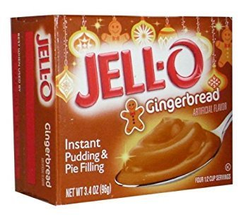 Jell-o Instant Pudding & Pie Filling (Gingerbread)