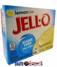 Jell-o Instant Pudding & Pie Filling (Lemon)