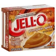 Jell-o Instant Pudding & Pie Filling (Pumpkin Spice)