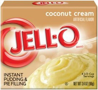 Jell-o Instant Pudding & Pie Filling (Coconut Cream)
