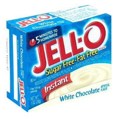 Jell-o Instant Pudding & Pie Filling (White Chocolate)