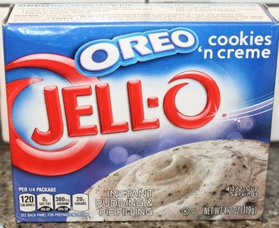 Jell-o Instant Pudding & Pie Filling (Cookis 'N' Cream)