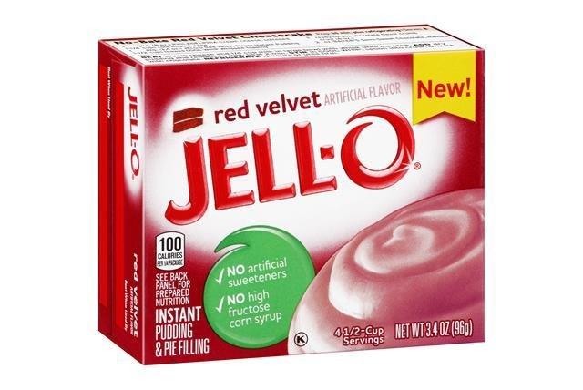 Jell-o Instant Pudding & Pie Filling (Red Velvet)