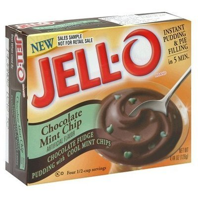 Jell-o Instant Pudding & Pie Filling (Chocolate Mint Chip)