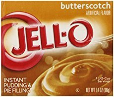 Jell-o Instant Pudding & Pie Filling (Butterscotch)