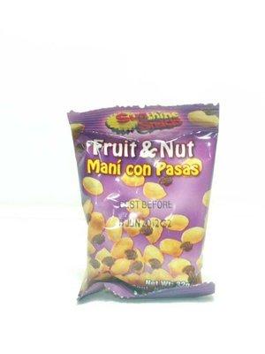 Sunshine Snacks Fruit & Nut Peanut (32g)