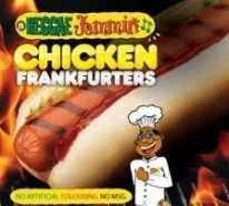 Reggae Jammin Jumbo Chicken Frankfurter (960g)