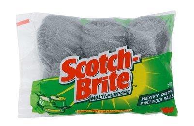 Scoth Brite Steel Wool (six pack)