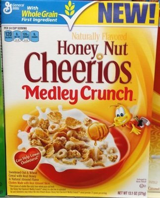 Nestle Honey NUt Cheerios (347g)