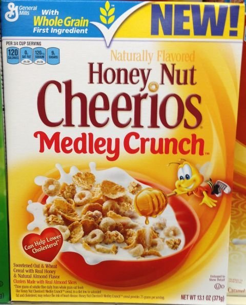 Nestle Honey NUt Cheerios (347g)