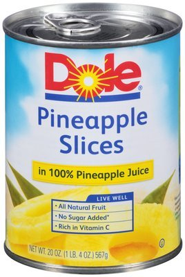 Dole Pineapple Slices (567g)
