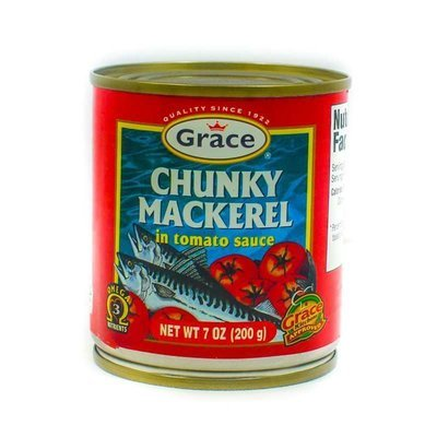 Grace Chuncky Makerel (200g)