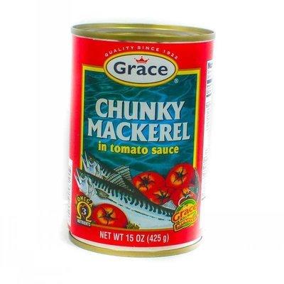 Grace Chuncky Mackerel  (425g)