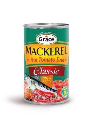 Grace Hot & Spicy Mackerel  (155g)