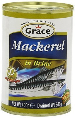 Grace Premium Mackerel in Brine  (200g)