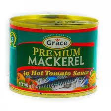 Grace Premium Mackerel in Hot Sauce