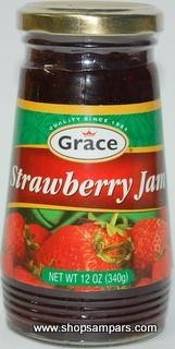 Grace Strawberry Jam (340g)