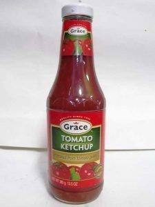 GRACE KETCHUP (GLASS BOTTLE) 385g