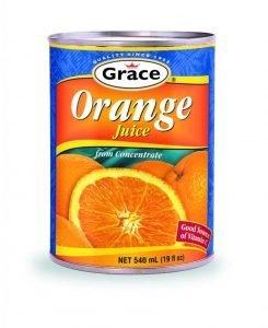 Grace orange juice (540ml)