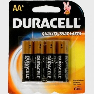 Duracell Coppertop AA (4)