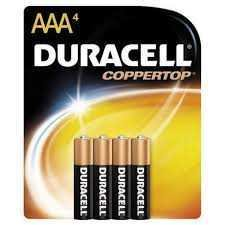 Duracell Coppertop AAA (4)